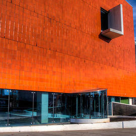 Mike  Deutsch - Orange Facade