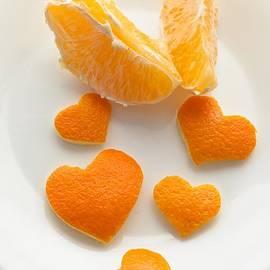Sviatlana Kandybovich - Orange heart