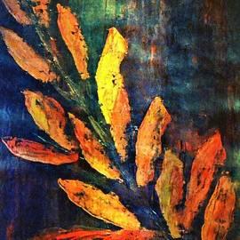 Dimitra Papageorgiou - Orange Leaves