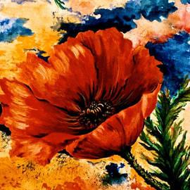 Jan Law -  Oriental Poppy