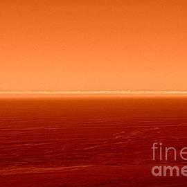 Clare Bevan - Orange Sea
