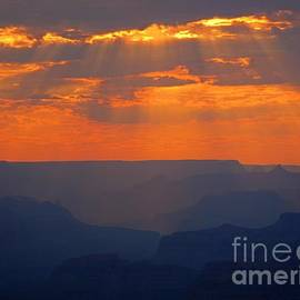 John Malone - Orange Sky over the Grand Canyon