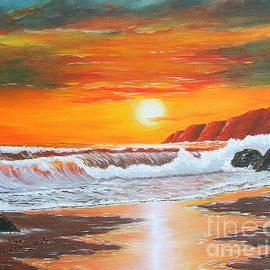 Val Miller - Orange Sunset