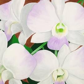Lisa Bentley - Orchid Splendor Painting
