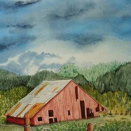 Katherine Young-Beck - Oregon Barn