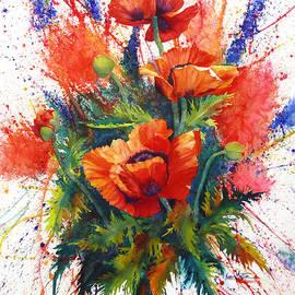 Karen Mattson - Oriental Poppy Chaos
