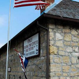 Robert Ford - Original Pony Express Station Marysville Kansas