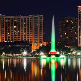 Frozen in Time Fine Art Photography - Orlando at Night