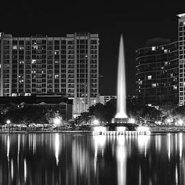 Frozen in Time Fine Art Photography - Orlando Black and White Night