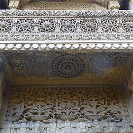 Sue Jacobi - Ornate Decorative Balcony Jaisalmer Fort Rajasthan India