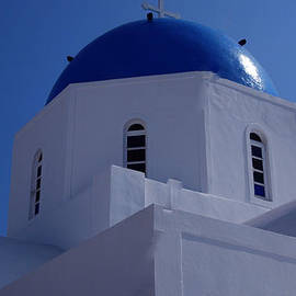 Colette V Hera  Guggenheim  - Orthodox Santorini Church Greece