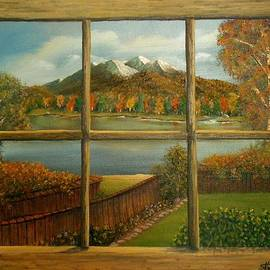 Sheri Keith - Out My Window-Autumn Day