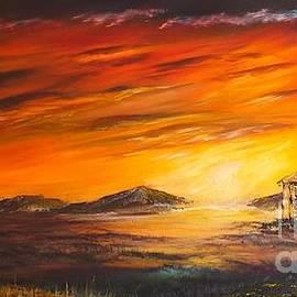 Christopher Vidal - Outback Sunset