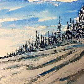 Desmond Raymond - Outcrop Peak - Winter