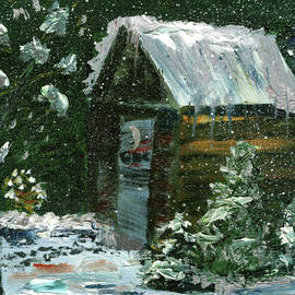Gloria Condon - Outdoor Water Chamber in the Winter
