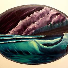 Joyce Krenson - Oval Ocean View