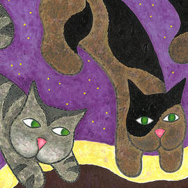 Carol Neal - Over Cover Cats