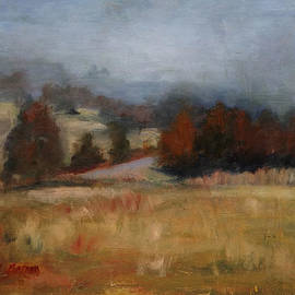 Carol Berning - Overcast January Day in Lascassas