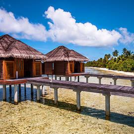 Jenny Rainbow - Overwater Spa Villas. Maldives