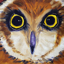 Nancy Merkle - Owl Eyes