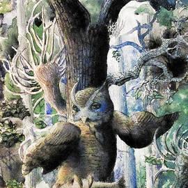 Gerald Ziolkowski - Owl in the Forest