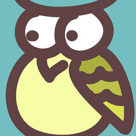 Nursery Art - owl