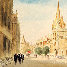 Bill Holkham - Oxford High Street