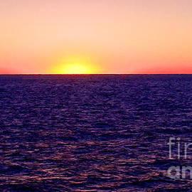 Bob and Nadine Johnston - Pacific Sunset off Laguna Beach