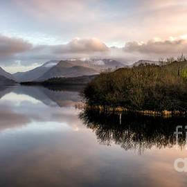 Adrian Evans - Padarn Lake Sunset