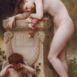 William Adolphe Bouguereau - Pain of Love