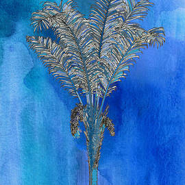 Kandy Hurley - Painted Blue Palm