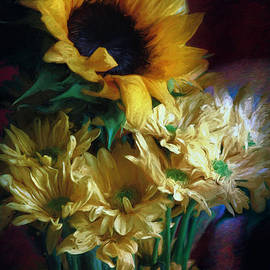John Rivera - Painted Flowers of Sun