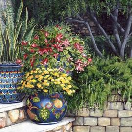 Mary Palmer - Painted Pots