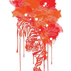 Budi Kwan - Painted tiger