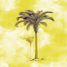 Kandy Hurley - Painted Yellow Palm
