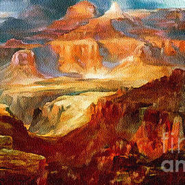 Bob and Nadine Johnston - Painting An Evening in Grand Canyon