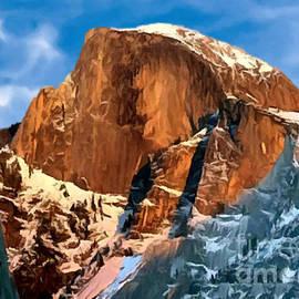 Bob and Nadine Johnston - Painting Half Dome Yosemite N P