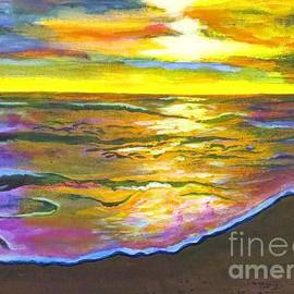 Judy Via-Wolff - Painting Sanibel Island Beach