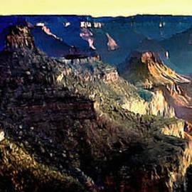 Bob and Nadine Johnston - Painting the Sunrise Grand Canyons