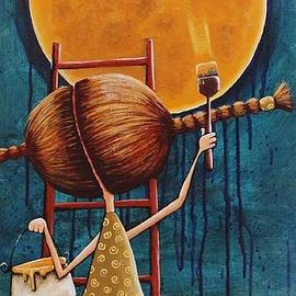 Lucia Stewart - Painting the moon