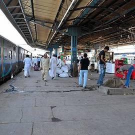 Imran Ahmed - Pakistan Railways train at station