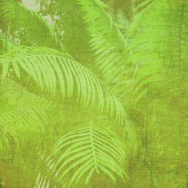 Marianne Campolongo - Palm leaves botanical abstract