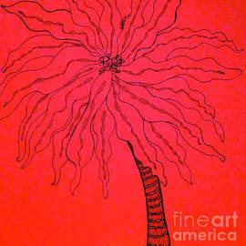 Anita Lewis - Palm Red