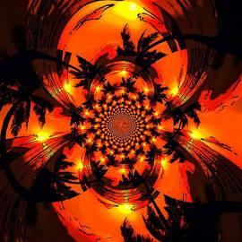 Karen Buford - Palm Sun Fractal