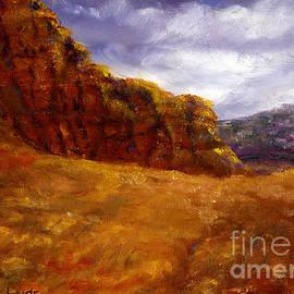 Lenora  De Lude - Palo Duro Canyon Texas Hand Painted Art