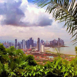 Julia Springer - Panama City from Ancon Hill