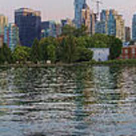 David Smith - Panorama of Coal Harbour and Vancouver Skyline at Dusk