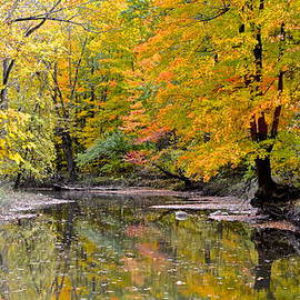 Frozen in Time Fine Art Photography - Panoramic Autumn View