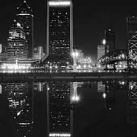 Frozen in Time Fine Art Photography - Panoramic Jacksonville Night