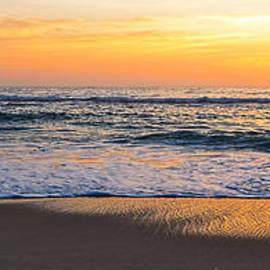 Kaye Menner - Panoramic Pacific Sunrise by Kaye Menner